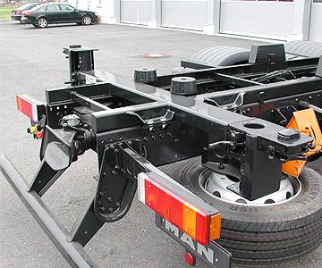 Containerwechselsysteme von der Firma Goldbrunner Hebe und Foerdertechnik
